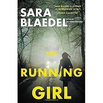 A garota correndo