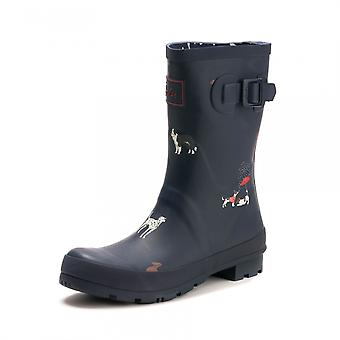 Joules Joules Molly Welly Womens Mid Height Print S/S 19