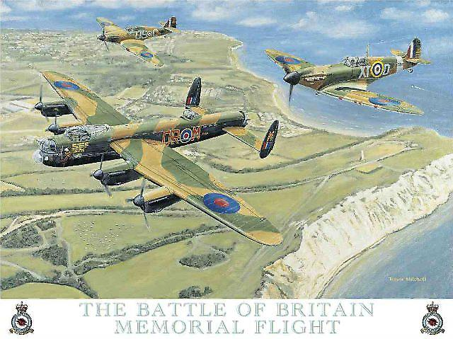 Battle Of Britain Memorial Flight metal sign (og 2015)