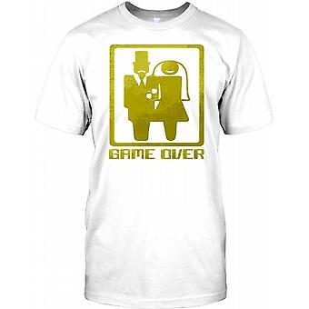 Game Over - Bride and Groom - Stag Do Party Kids T Shirt