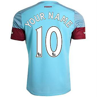 2015-16 West Ham Away Shirt (Your Name) -Kids