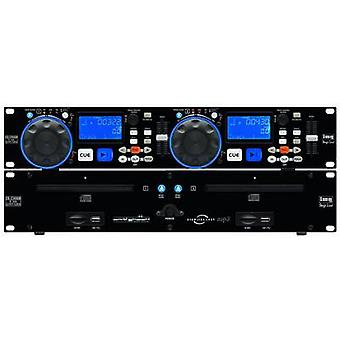 IMG STAGELINE CD-230USB DJ Twin CD MP3 Player