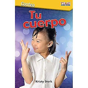 Conteo: tu Cuerpo (räkna: din kropp) (spansk version) (nivå K) (Exploring läsning)