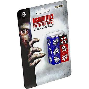 Resident Evil 2 The Board Game - Extra Dice Set