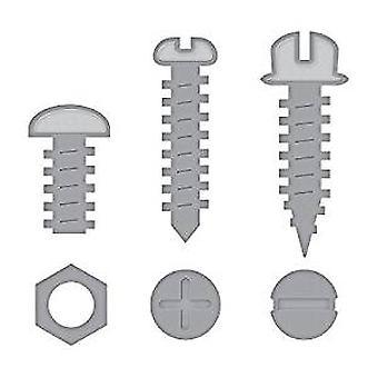Spellbinders Die D-Lites Nuts & Bolts (S2-288)