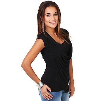 KRISP Womens Tie Back Jersey Top