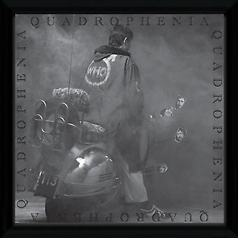 The Who Quadrophenia Framed Album Cover Print 12x12in
