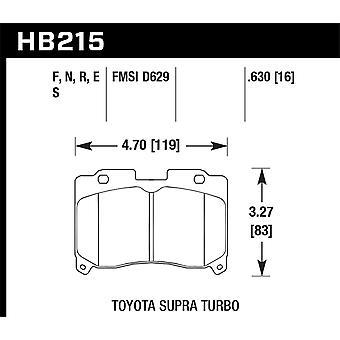 Hawk performance HB215N. 630 pk plus