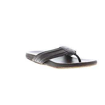 Tommy Bahama Mayaguana TB8M00029 Mens Brown Leather Flip-Flops Sandals Shoes