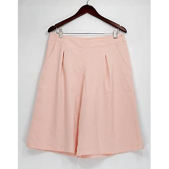 G.I.L.I. hat es liebe es Petite Hose Seite Zip Culottes Taschen rosa A277134