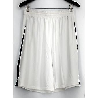 Team Holloway plus Shorts (XXL) elastische taille kleur geblokkeerd wit