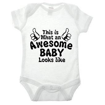 Awesome baby babygrow