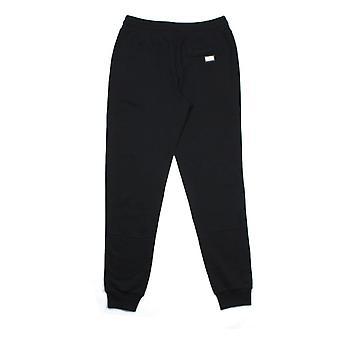 Dolce & Gabbana Metal Logo Patch Sweatpants Black N0000