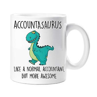 Accountasaurus Mug