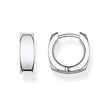 THOMAS SABO Women's Silver Hoop Earrings CR650-001-21