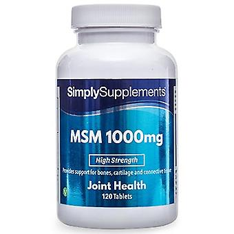 Msm-1000mg - 180 Tablets