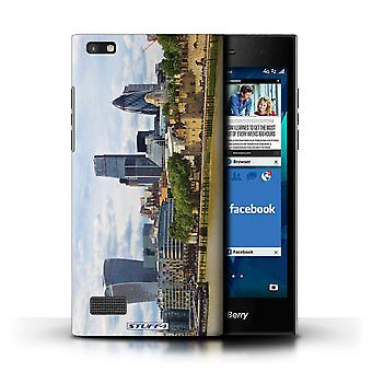 STUFF4 Case/Cover for Blackberry Leap/City of London/London Sites