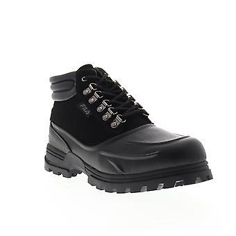 Fila Weathertec mens svart syntetiska vandringskängor skor