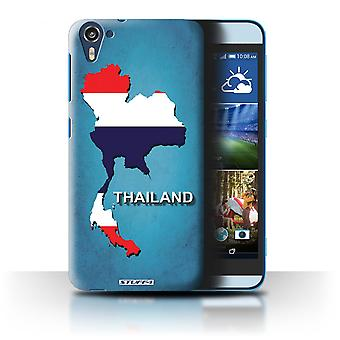 STUFF4 Case/Cover for HTC Desire 826/Thailand/Thai/Flag Nations