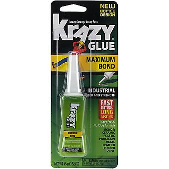 Krazy Glue(R) Maximum Bond Industrial Formula-15g KG48948