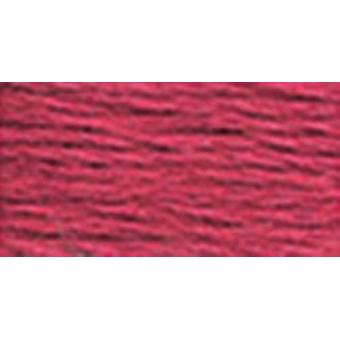 Dmc Pearl Cotton Skeins Size 3  16.4 Yards Ultra Dark Dusty Rose 115 3 3350