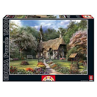 Educa Rose Cottage, D. Davison Puzzle 1500 Pieces (Speelgoed , Bordspellen , Puzzels)