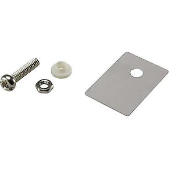 Semiconductor mounting set (L x W) 22.3 mm x 15.2 mm Suitable for TO 247 SCI 1 Set