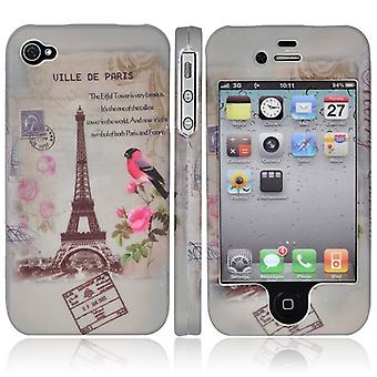 Cover the Eiffel Tower, in full, in hard plastic, for iPhone 4/4s