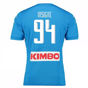 2016-17 Napoli Authentic Home Shirt (Insigne 94)