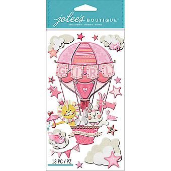 Jolee's Boutique Dimensional Stickers-Baby Girl - Special Delivery E5050625
