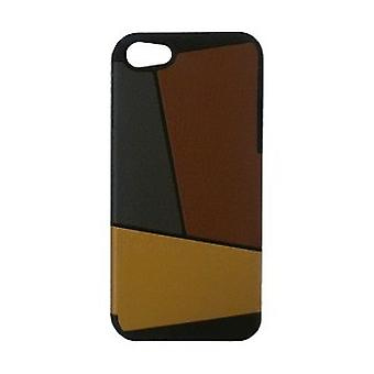 Pc'er Art Deco case cover iPhone 5 / 5S Brown