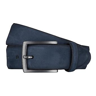 SAKLANI & FRIESE belts men's belts Suede Blue 5035