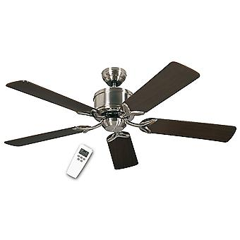 DC ceiling fan Eco Elements Chrome brushed
