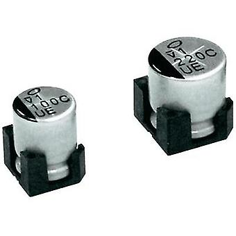 Electrolytic capacitor SMD 220 µF 25 V 20 % (Ø x H) 10 mm x 10.5 mm Nichicon UBC1E221MNS1GS 1 pc(s)