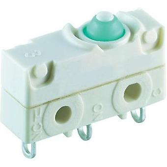 Microswitch 250 Vac 10 A 1 x On/(On) Marquardt 1045.1103-00 IP67 momentary 1 pc(s)