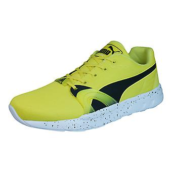 Puma XT S Speckle Trinomic Mens Trainers / Shoes - Yellow