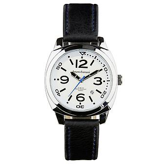 Bruno Banani watch wristwatch of Ketos leather analog BR30016