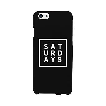 Saturday Black Phone Cases For Apple, Samsung Galaxy, LG, HTC Gift Ideas
