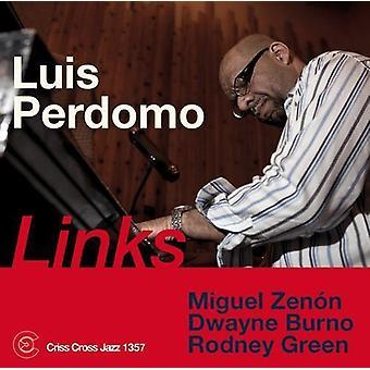 Luis Perdomo - Links [CD] USA import