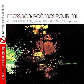 Olivier Messiaen & Lise Arseguest - Messiaen: Importazione USA Po Mes Pour MI [CD]