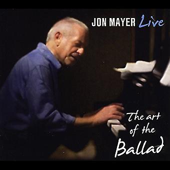 Jon Mayer - The Art of the Ballad (Live) [CD] USA import