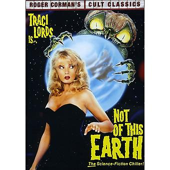 Not of This Earth [DVD] USA import