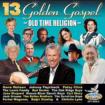 13 Golden Gospel - 13 Golden Gospel [CD] USA import