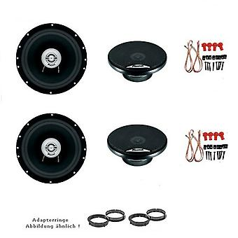 VW Golf 4 and Golf 6, speaker, speakers, door front and rear