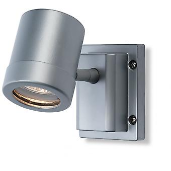 Firstlight Modern Aluminium Outdoor Wall Downlight