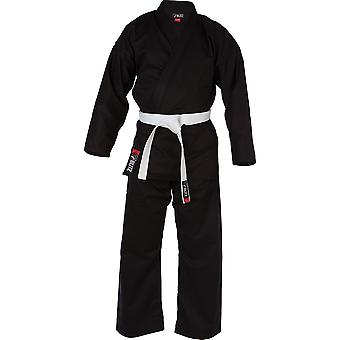 Blitz Sports Adult Cotton Student Karate Suit - Black