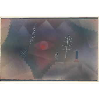 Paul Klee - Swiss Glance of a Landscape Poster Print Giclee