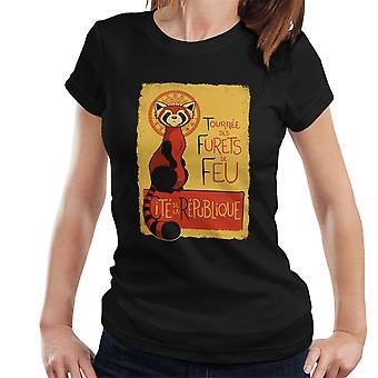 Les Furets de Feu legende af Korra dame T-Shirt