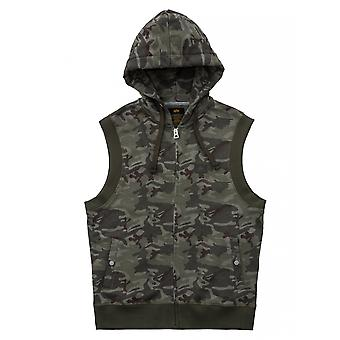 Alpha industries Zip Hoody vest of X-fit sleeveless