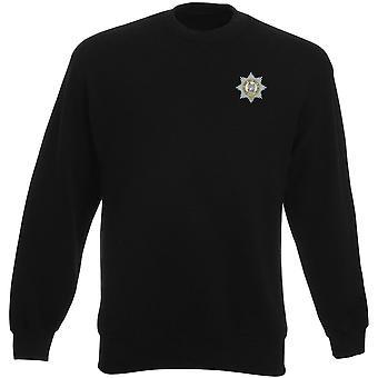 O Regimento de Worcesershire bordado logotipo 1920 - oficial de exército britânico Heavyweight moletom